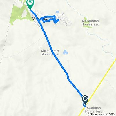 Moranbah  Bike Route  (Perfect for E-Bike)