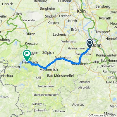 [DAY 35] Bonn - Hasenfeld (Eifel National Park)