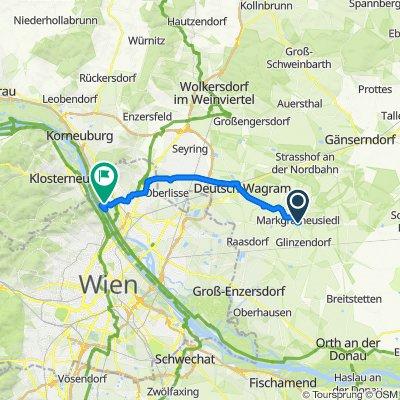 Machfeldkanal Stadteinwärts