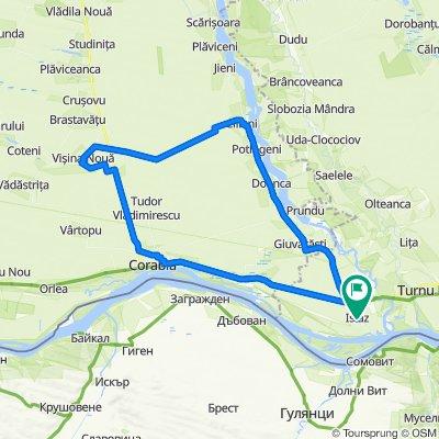 Strada Dunării 127, Islaz to Strada Dunării 127, Islaz