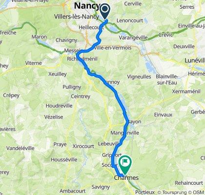 Laneuveville-devant-Nancy Cycling