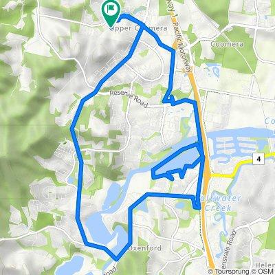 8 Humber Street, Upper Coomera to 4 Benz Link, Upper Coomera