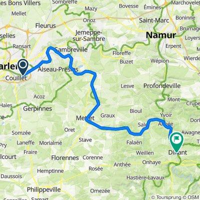 Charleroi Dinant