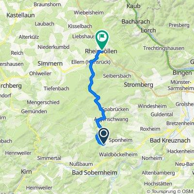 Winterburger Straße 17, Bockenau nach Bacharacher Straße 10, Rheinböllen