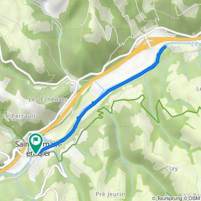 De 9 Route d'Échalas, Saint-Romain-en-Gier à 5 Rue de l'Église, Saint-Romain-en-Gier