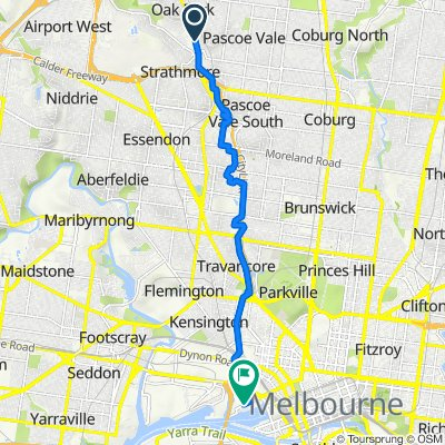 542 Pascoe Vale Road, Pascoe Vale to 441 Docklands Drive, Docklands