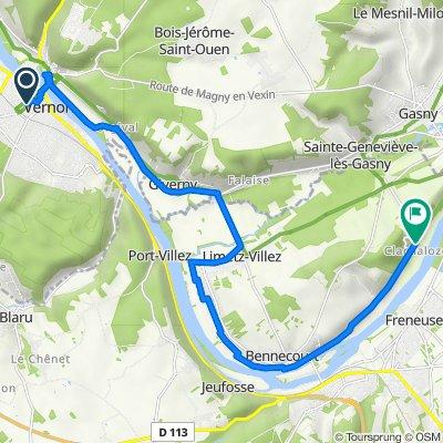 Dag 3 : Vernon - Gommecourt