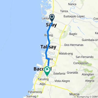 Rizal Street, Silay City to Saint Francis Avenue, Bacolod
