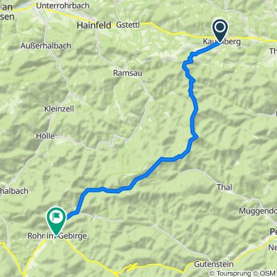 Wr. Wallfahrerweg: Etappe 3/5: Kaumberg - Rohr