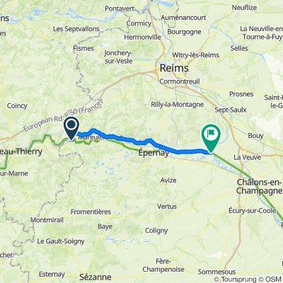 "[Trek] The ""vallée de la Marne"" greenway"