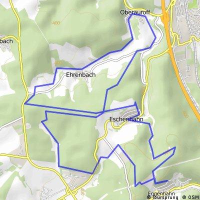 Trainingsrunde von Engenhahn nach Oberauroff