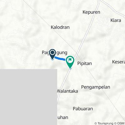 Jalan Akses Polda, Kecamatan Walantaka to Jalan Ciruas - Petir, Kecamatan Walantaka