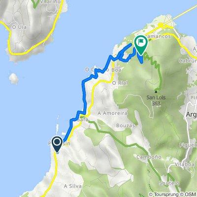 Ruta desde Calle Áurea Lorenzo Abeijón, 5, Porto do Son