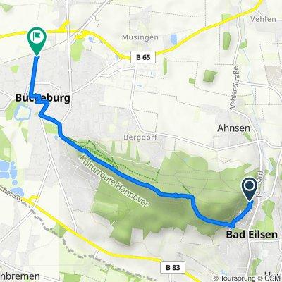 Bad Eilsen nach Bückeburg