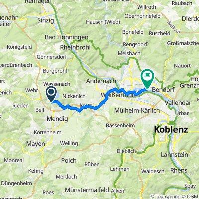 Route nach Im Elm 29, Neuwied