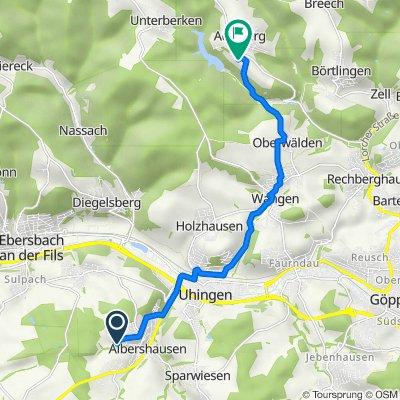 Ebersbacher Straße 59, Albershausen nach Kloster 5, Adelberg