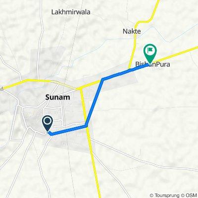 Bhai Moolchand Road, Sunam to SH 12A, Sangrur