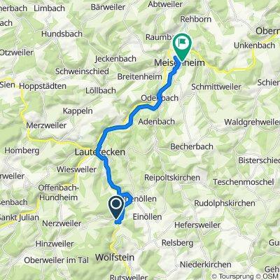 Reckweilerhof 4, Wolfstein nach Am Wehr 6, Meisenheim