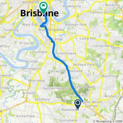 9 Cervantes Street, Macgregor to 169 Charlotte Street, Brisbane