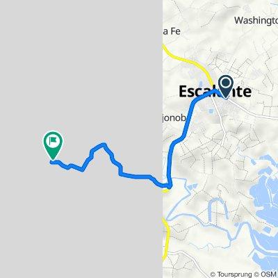 Philippines, Escalante City to sitio baloc road section, Dakbayan sa Escalante
