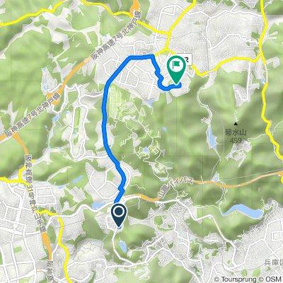 15-119, Hiyodoridaiminamimachi 1-Chōme, Kita, Kobe to 1-39, Kimikagecho 3-Chōme, Kita, Kobe