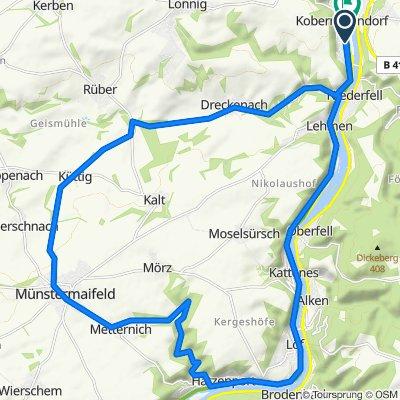Kobern Münstermaifeld Schrumpftal Kobern