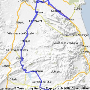 Bellús-Favara-Castelló de Rugat
