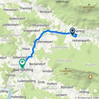Ferienzentrum 3, Hohenwarth nach Kupferschmiedgasse 5, Bad Kötzting