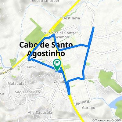 De Rua Amara Guimarães Dutra 185A a Rua Amara Guimarães Dutra 185A