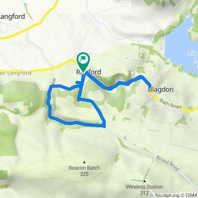 The Old Barn, Rickford Rise, Bristol to Rickford Farm, Rickford Rise, Bristol