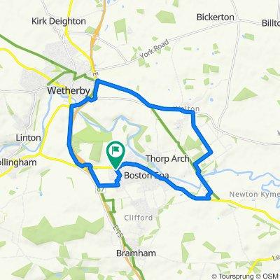 12 Nursery Way, Wetherby to 11 Nursery Way, Wetherby