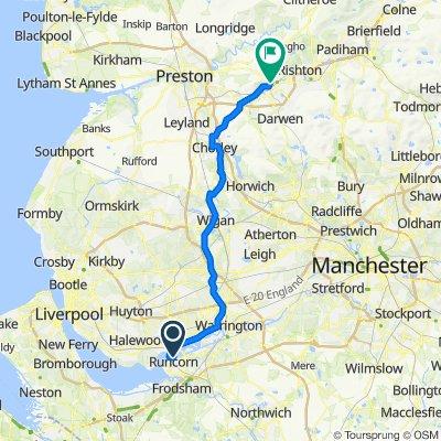 13 Runcorn to Blackburn 28th May