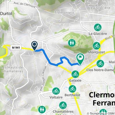 De 49–69 Avenue du Puy-de-Dôme, Clermont-Ferrand à 53 Rue Paul Diomède, Clermont-Ferrand