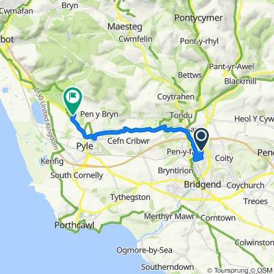 6 Penylan, Bridgend to 17 Cwrt y Carw, Port Talbot