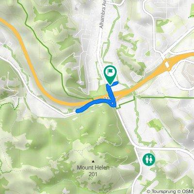 4141 Alhambra Ave, Martinez to 531–551 Walnut Ave, Martinez