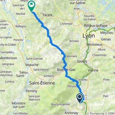 De Route de Larin le Haut 439, Felines à Le Bourg 48, Chirassimont