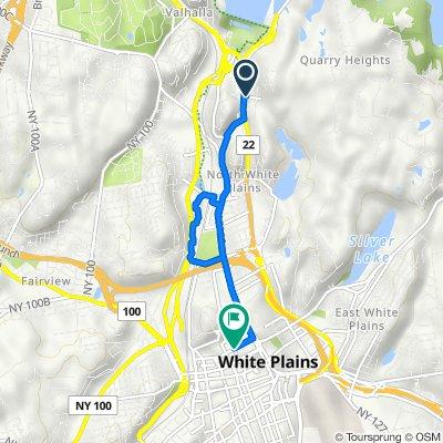Hillandale Ave, White Plains to 31 Barker Ave, White Plains