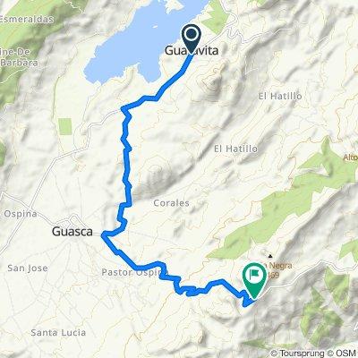 De Carrera 1 5-26, Guatavita a Guasca-Sueva
