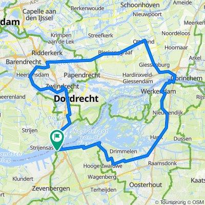 D: Vijfbruggentocht vanaf Moerdijk