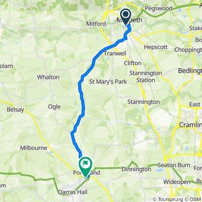 2–10 Bridge St, Northumberland to Main St, Ponteland, Newcastle Upon Tyne
