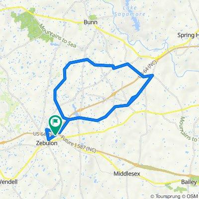 25 mile North Loop Route