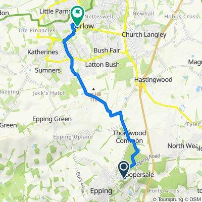 17 Boleyn Row, Epping to Civic Walk, Harlow