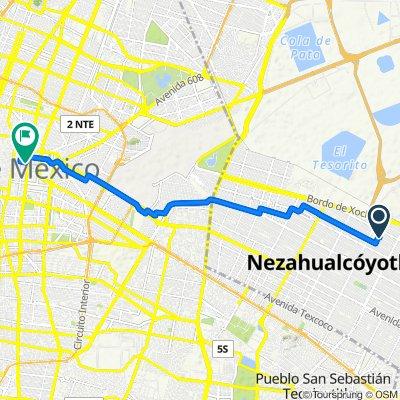 De La Texanita, Nezahualcóyotl a Alarcon 53, Ciudad de México
