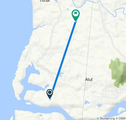 Coastal Highway, Bhagod to Unnamed Road, Valsad