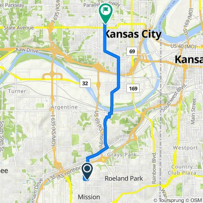 6079–6197 W 51st St, Mission to 1320 Washington Ave, Kansas City