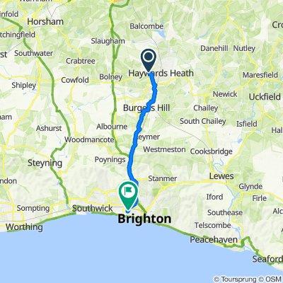 Three Chimneys, Tylers Green, Haywards Heath to 79 The Drive, Hove