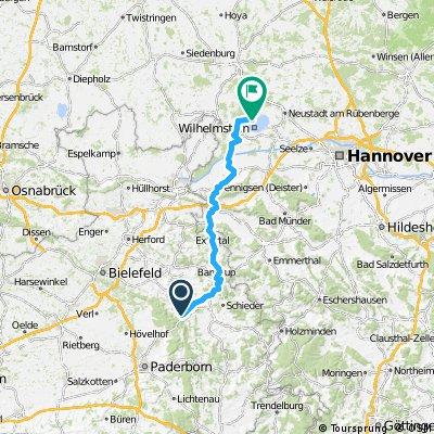 1984 - Salzburg - Schwanewede - 12. Tag: Horn-Bad Meinberg - Mardorf