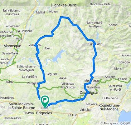 Valensole - Barrême - Castellane - 1er Juin 21.