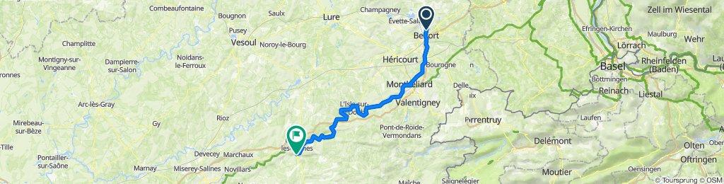 Belfort - Pont-les-Moulins