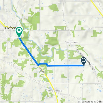 2557 Nichols Rd, Hamilton to Millville Oxford Rd, Oxford